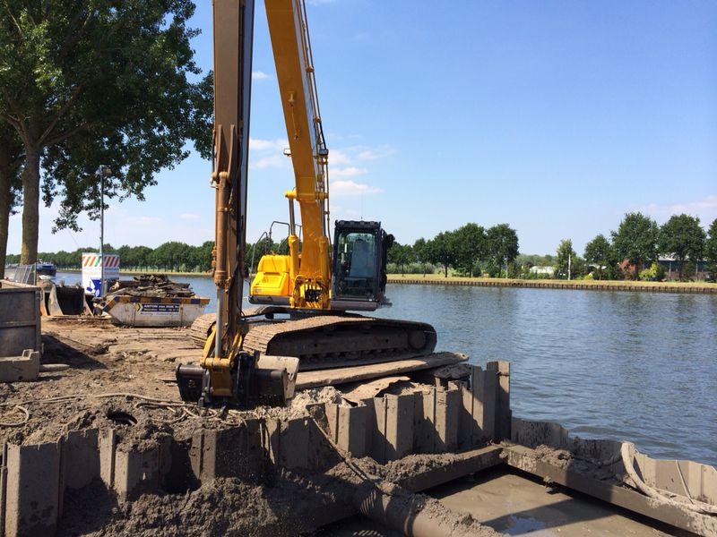 Grondverzet Gemaal Amsterdam Rijnkanaal
