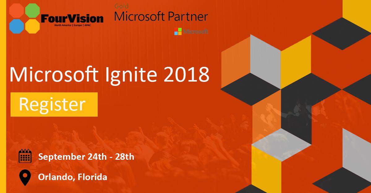 Microsoft Ignite 2018 FourVision