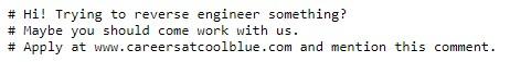 CoolBlue Robots.txt