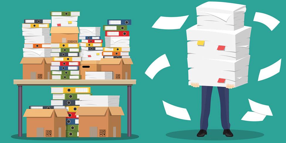 Folders desk paper