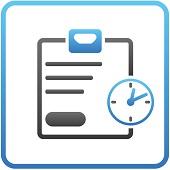 web app timesheet registration dynamics talent