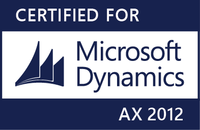 Certified for Microsoft 365 Dynamics AX 2012