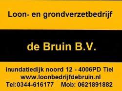 LOGO Loonbedrijf de Bruin